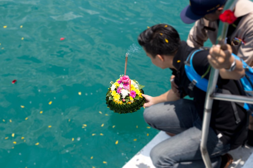 Scatter Ashes At Sea